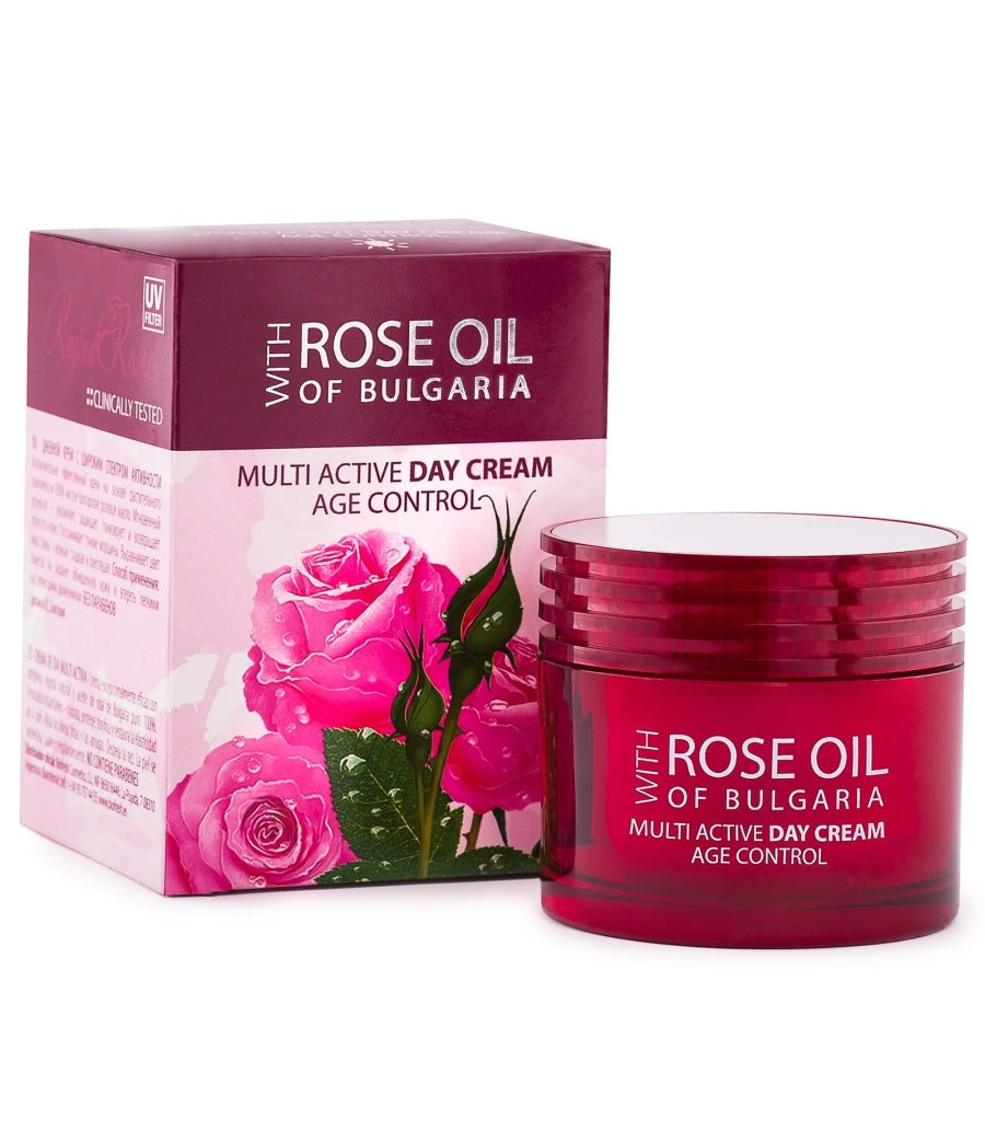 Multi Active Day Cream with Rose Oil
