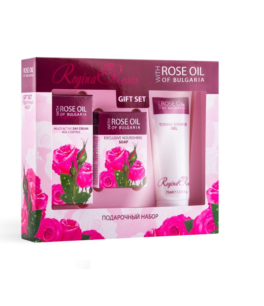 Gift Set - Day Cream 30Ml, Nourishing Soap 50G, Shower Gel 75ml