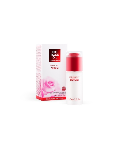 "Age Protect Serum ""Bio Rose Oil of Bulgaria"" 45ml"