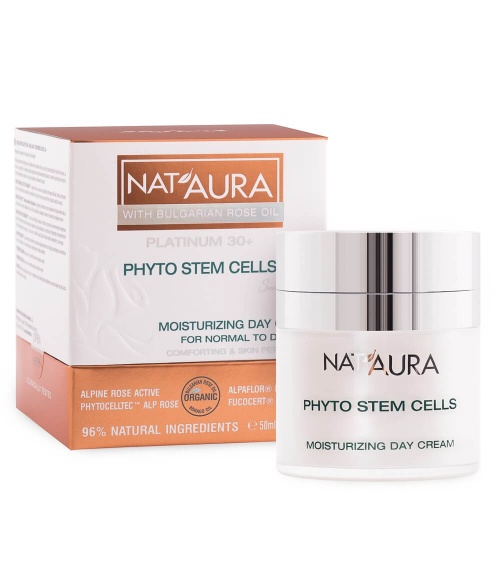 Nat'Aura Moisturizing Day Cream For Normal To Dry Skin 30+